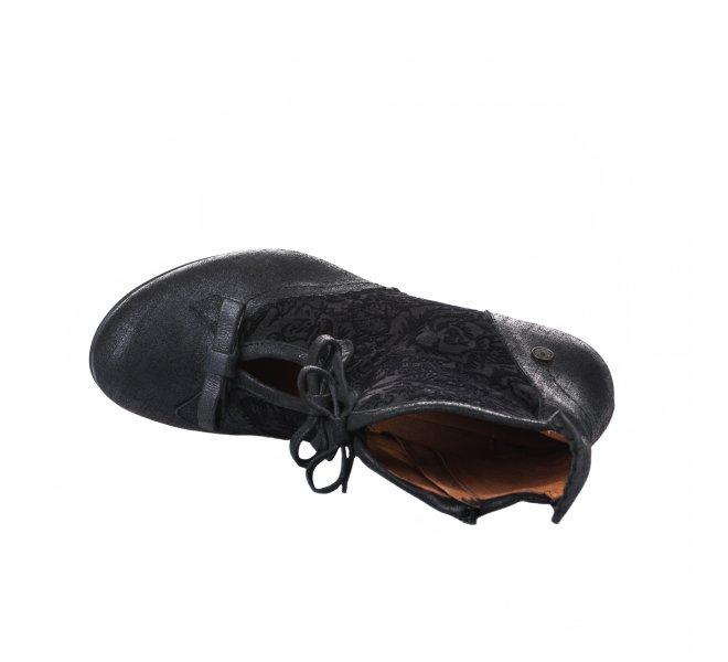 Boots fille - GOLD BUTTON - Bleu marine