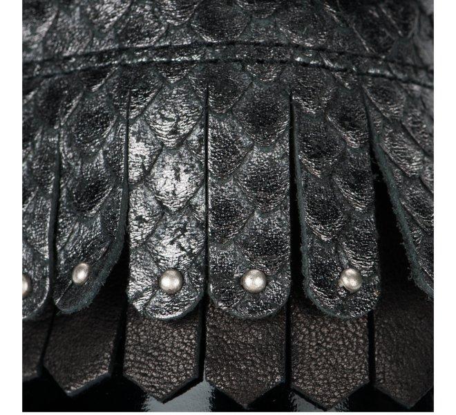 Chaussures a lacets fille - B&CO - Noir