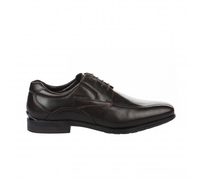 Chaussures à lacets garçon - BUGATTI - Marron