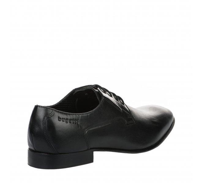 Chaussures à lacets garçon - BUGATTI - Noir