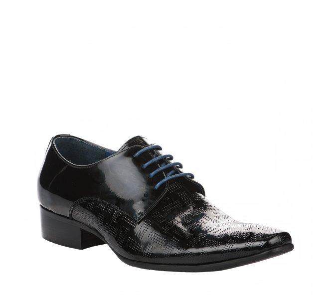 Chaussures à lacets garçon - KDOPA - Noir verni