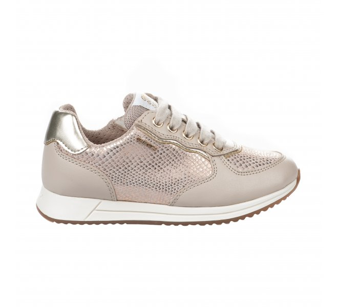 Baskets fille - GEOX - Beige rose