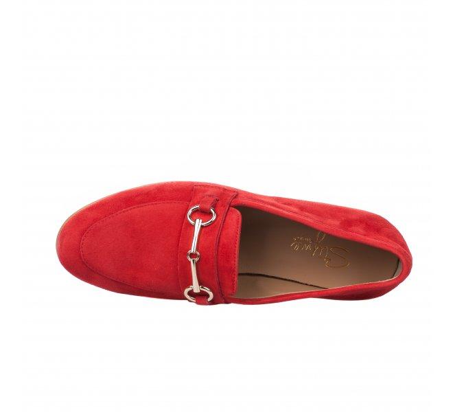 Mocassins fille - STYME - Rouge
