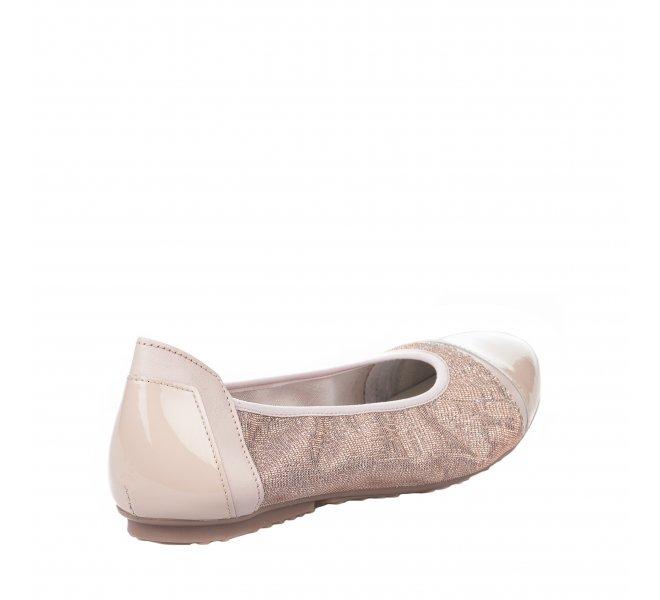Ballerines fille - MIGLIO - Rose poudre