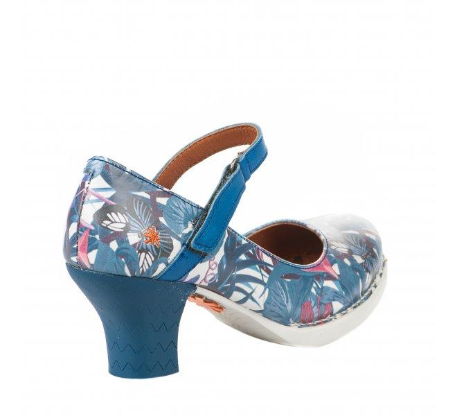 Escarpins fille - ART - Bleu