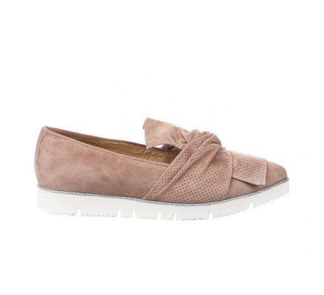 Mocassins fille - ALPE - Beige rose