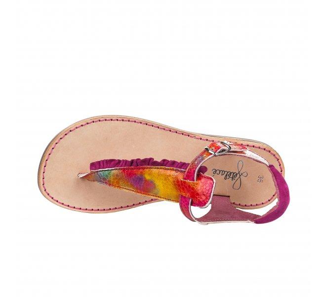 Nu-pieds fille - FéTéLACé - Rose fushia