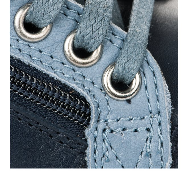 Baskets garçon - SHOO POM - Bleu marine
