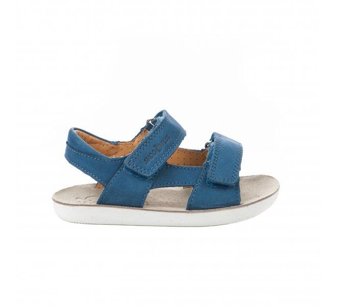 Nu-pieds garçon - SHOO POM - Bleu