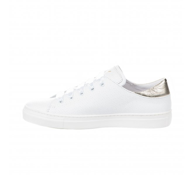 Baskets mode fille - B&CO - Blanc
