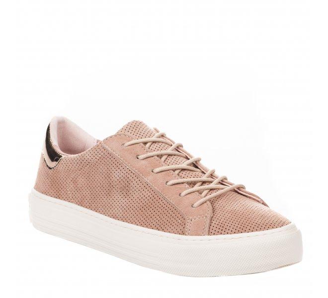 Baskets fille - NO NAME - Rose dore