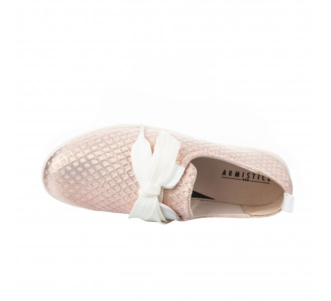 Baskets fille - ARMISTICE - Rose