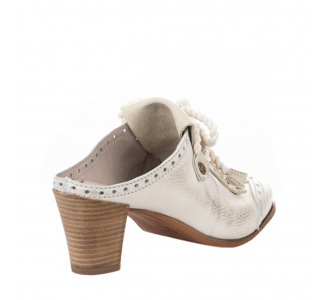 Mules fille - DKODE - Blanc creme