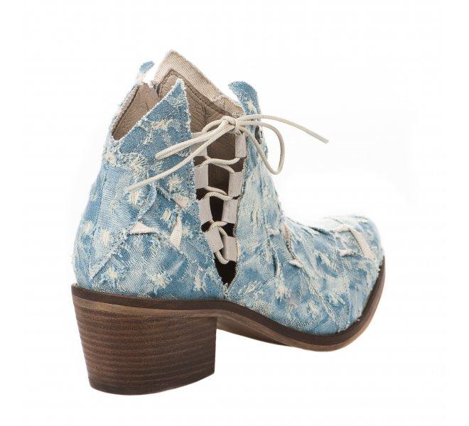 Boots fille - DKODE - Bleu