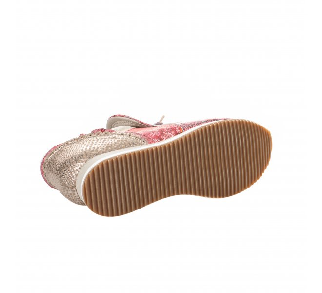 Baskets mode fille - DKODE - Rouge