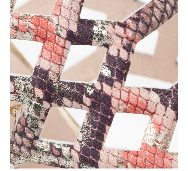 Nu pieds fille - PATRICIA MILLER - Python