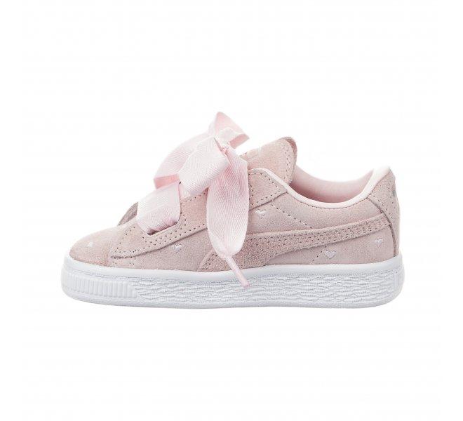 Baskets Puma rose poudre fille - 365137Y03 - 64485