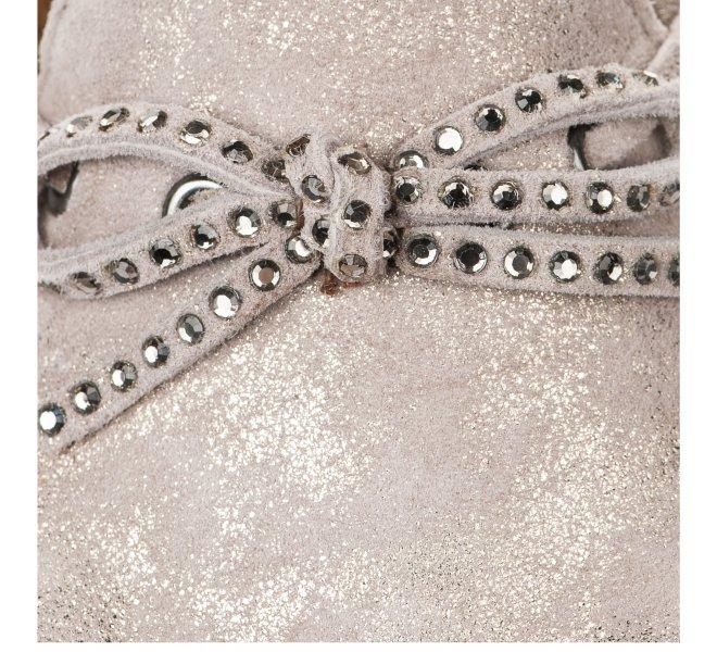 Chaussures de confort fille - GABOR - Beige dore