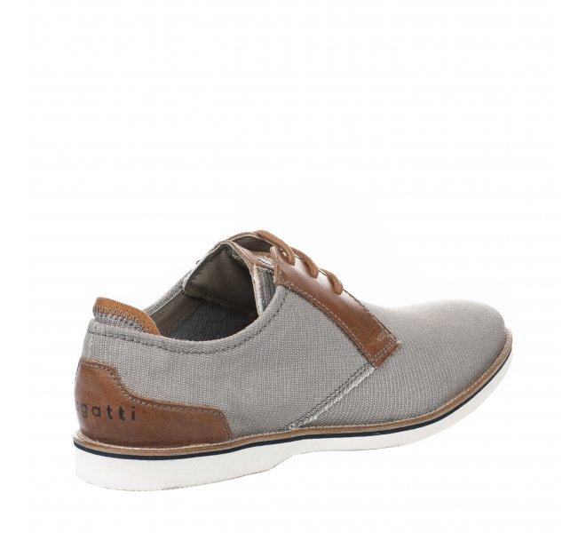 Chaussures à lacets garçon - BUGATTI - Gris