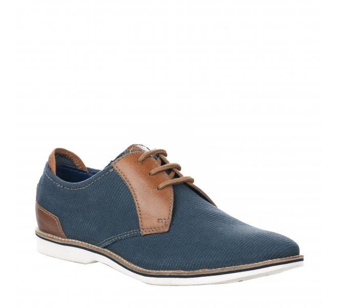 Chaussures à lacets garçon - BUGATTI - Bleu