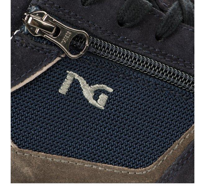 Baskets garçon - NEROGIARDINI - Bleu marine