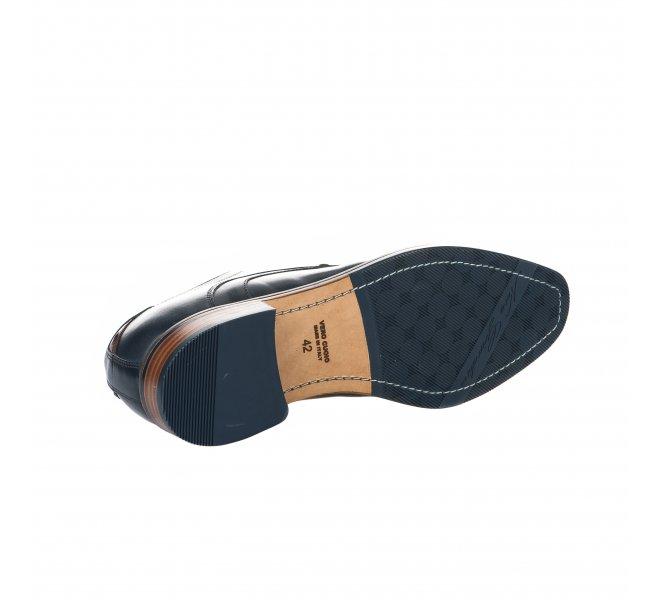 Chaussures à lacets garçon - NEROGIARDINI - Bleu marine