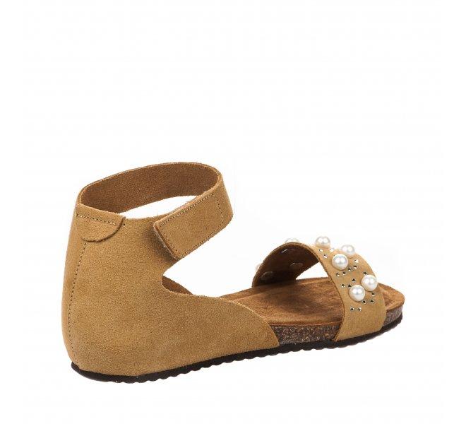 Nu pieds fille - MIGLIO - Jaune