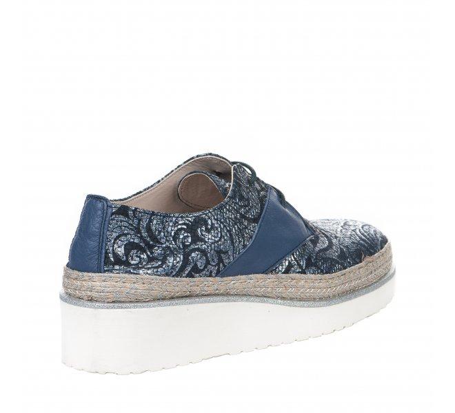 Chaussures à lacets fille - ANGEL INFANTES - Bleu marine