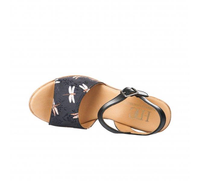Nu pieds fille - HDC - Noir
