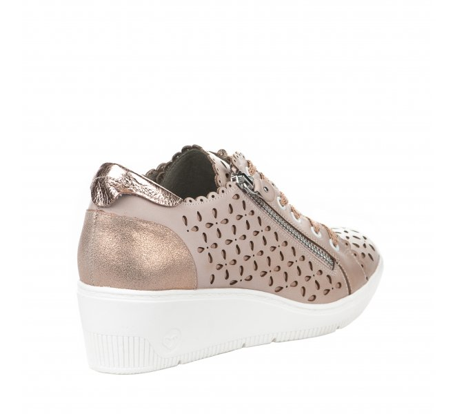 Baskets mode fille - MAM'ZELLE - Rose