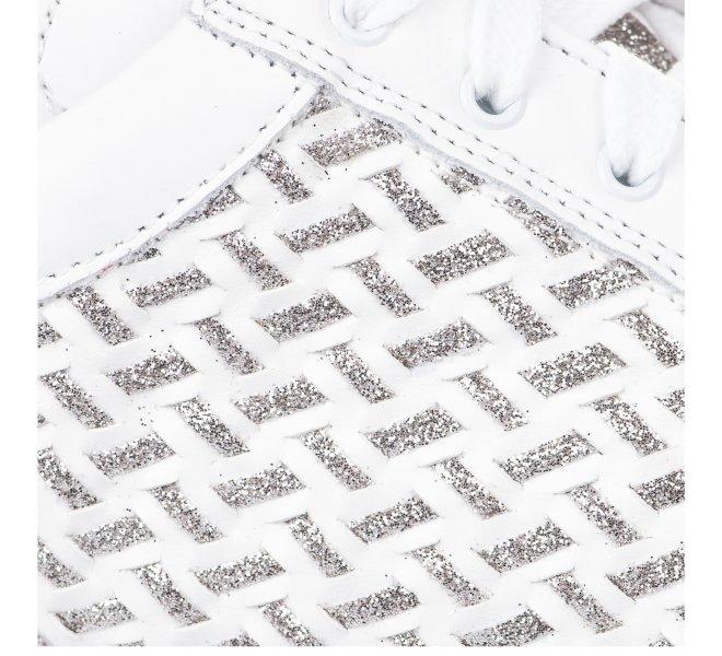 Baskets mode fille - LIFE - Blanc