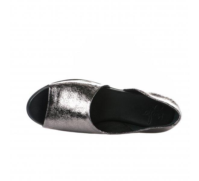 Nu pieds fille - MIGLIO - Gris argent