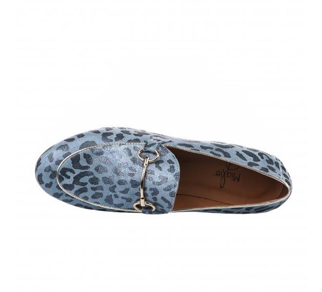 Mocassins fille - MIGLIO - Bleu