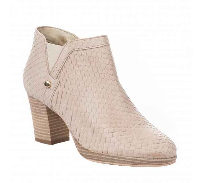Boots fille - MIGLIO - Beige