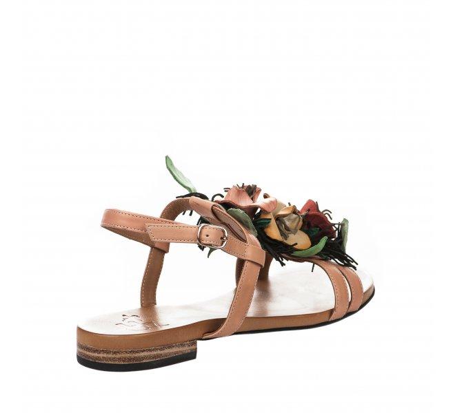 Nu pieds fille - FEMME  PLUS - Rose