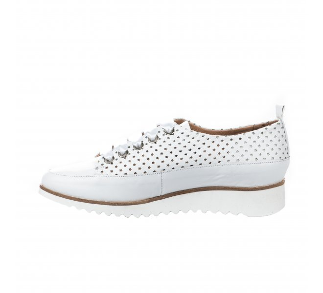 Baskets mode fille - MYMA - Blanc