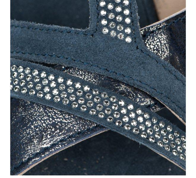 Nu pieds fille - KHRIO - Bleu marine