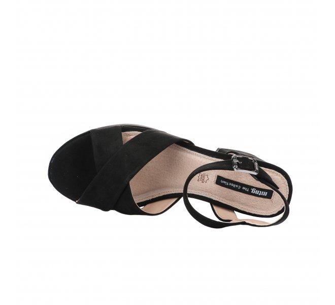 Nu pieds fille - MTNG - Noir