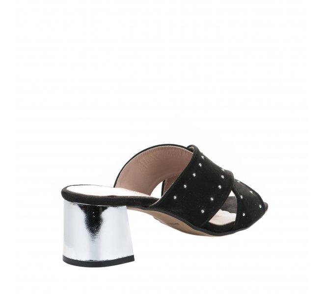Mules fille - STYME - Noir