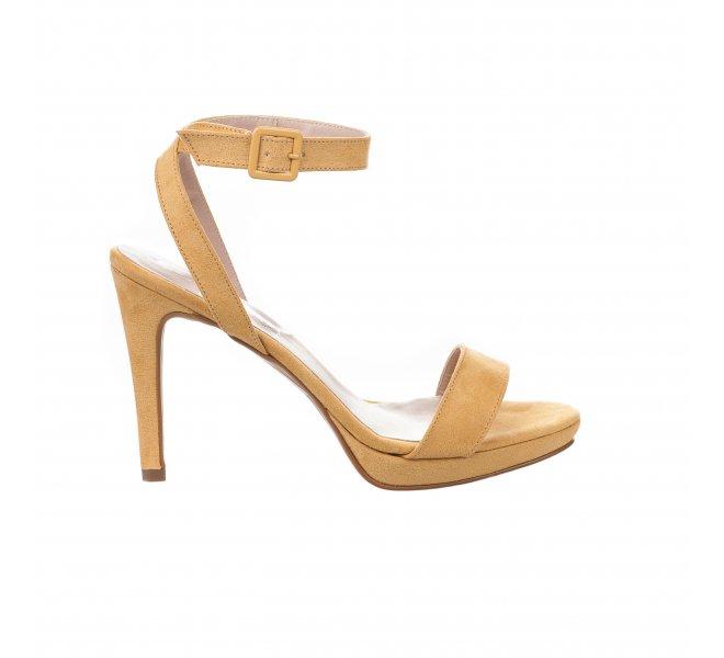 Nu pieds fille - STYME - Jaune