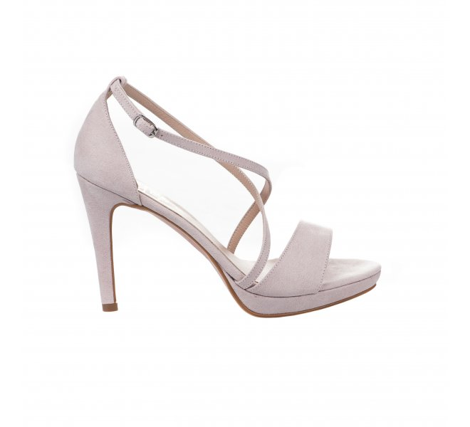 Nu pieds fille - STYME - Rose poudre