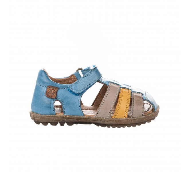 Nu-pieds garçon - NATURINO - Bleu