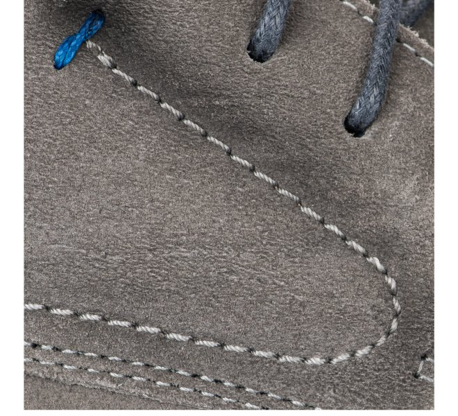 Chaussures à lacets garçon - FIRST COLLECTIVE - Gris