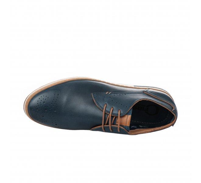 Chaussures à lacets garçon - FIRST COLLECTIVE - Bleu