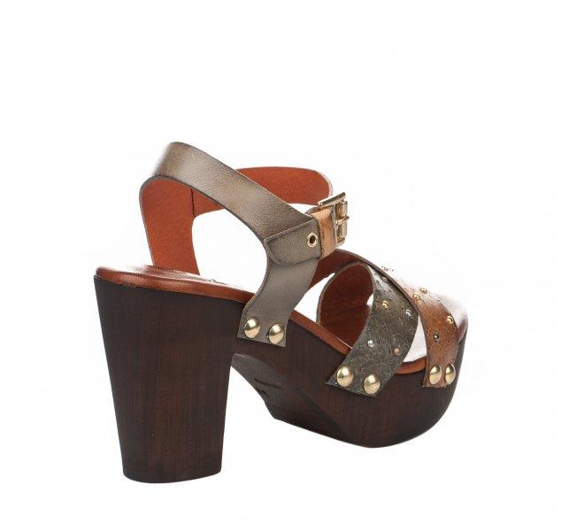Nu pieds fille - MIGLIO - Marron