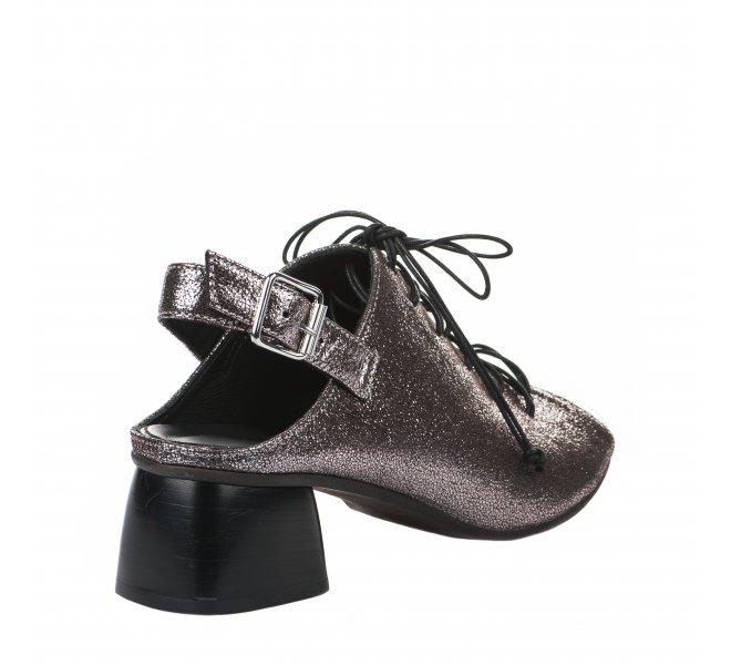 Nu pieds fille - MIGLIO - Rose argentee