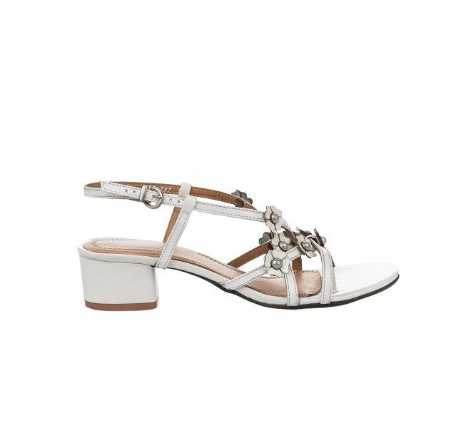 Nu pieds fille - MIGLIO - Blanc verni