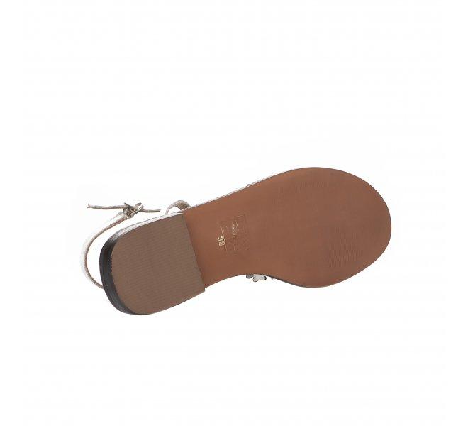 Nu pieds fille - MIGLIO - Blanc casse