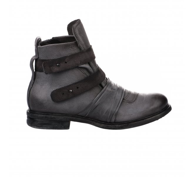 Boots garçon - FIRST COLLECTIVE - Gris