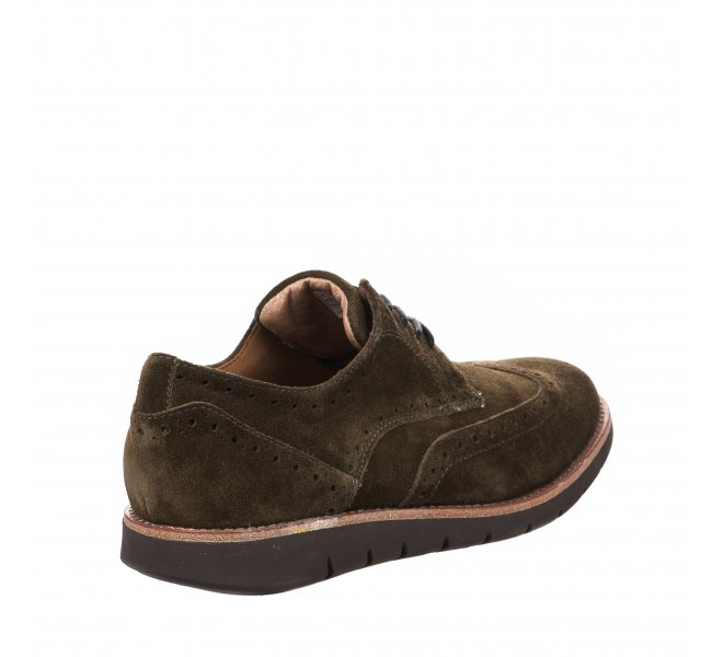 Chaussures à lacets garçon - SCHMOOVE - Kaki